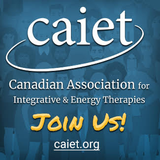 Canadian Association for Integrative & Energy Therapies - (CAIET) is a Canadian nonprofit organization of licensed mental health professionals and related energy and integrative health practitioners. We are committed to promoting knowledge and understanding of Energy Psychology and related fields by organizing and hosting educational workshops and the annual Canadian Energy Psychology Conference. CAIET was founded in July 2008 by Sharon Cass-Toole, DCEP, RP.